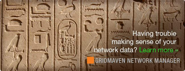 Having trouble making sense of your network data? Learn more about GridMaven Network Manager